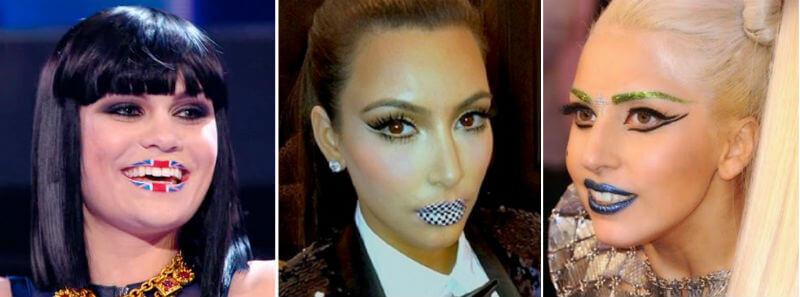 """Las """"celebrities"""" han ayudado a popularizar los lip stickers"""