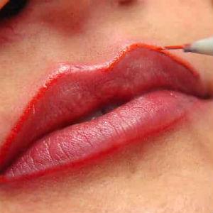 Labios tatuados: ¿Temporales o permanentes?