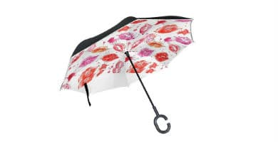 paraguas de labios