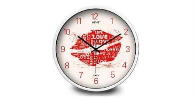 relojes de pared de labios