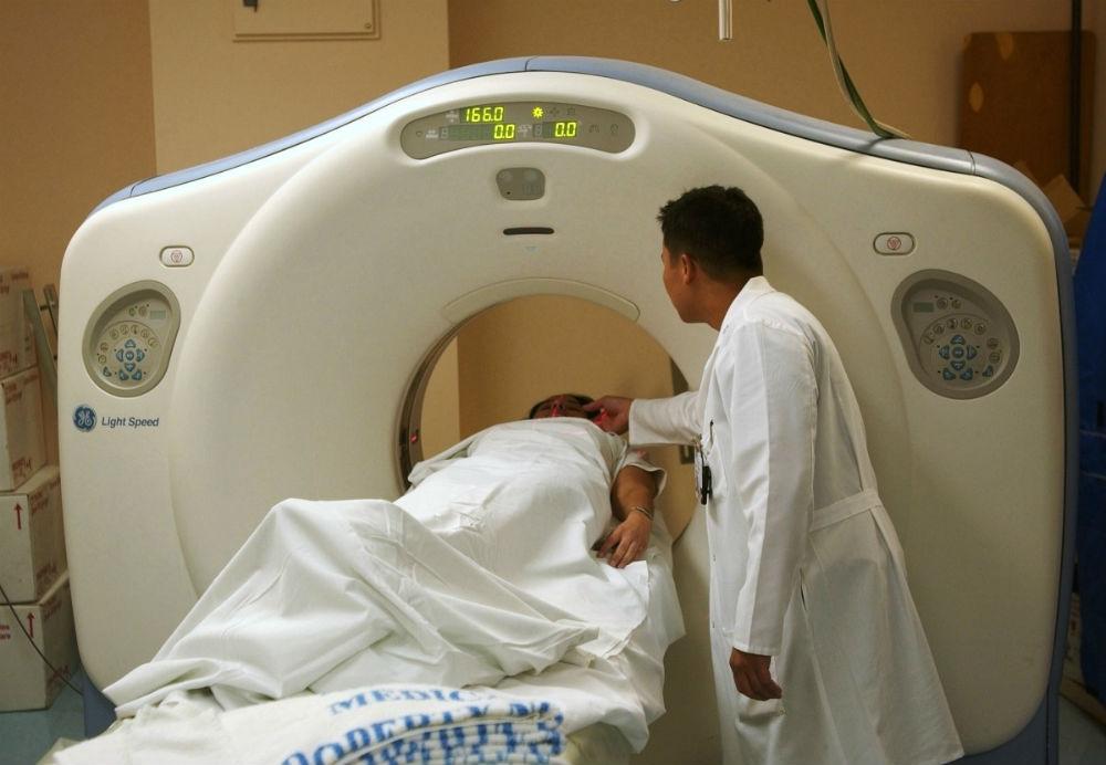 Una tomografía